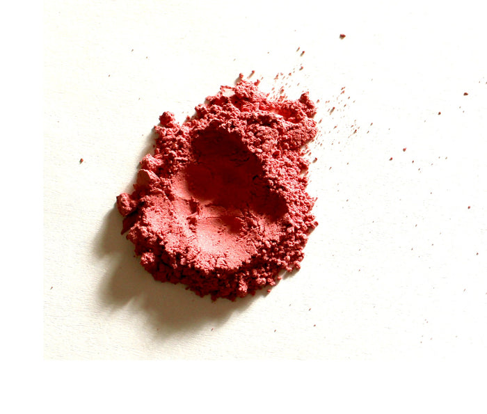 Mineral Blush Makeup Sample - Lenna  Red