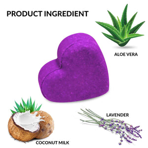 Shampoo Bar With Aloe vera  and Lavender  SLS Free