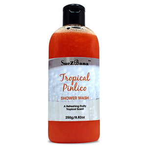 tropical shower gel