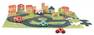 Egmont - City Puzzle with Cars