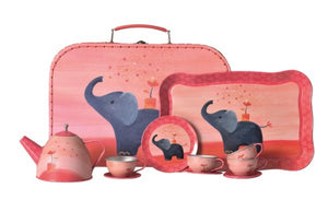 Egmont - Tin Tea Set - Elephant