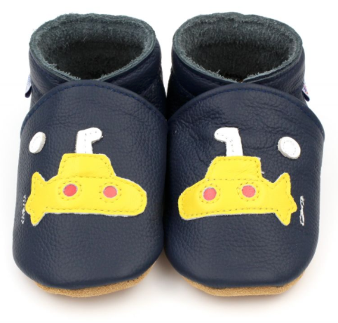 Petit Canon - Baby / Toddler Shoes - Yellow Submarine