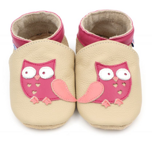 Petit Canon - Baby / Toddler Shoes - Owl