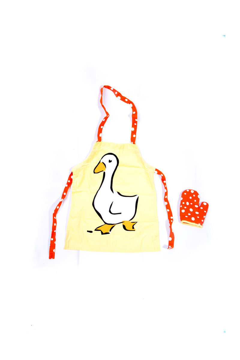 Egmont - Child Apron & Glove Set - Duck