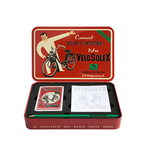 Velo Solex Playing Cards Gift Box