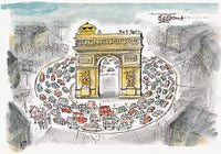 Mr Chicken Goes to Paris - Children's Book