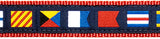 Nautical Flags Collar