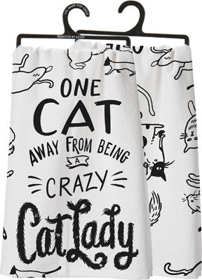 Crazy Cat Lady Tea Towel