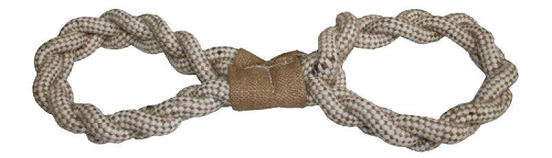 Figure Eight Rope Toy