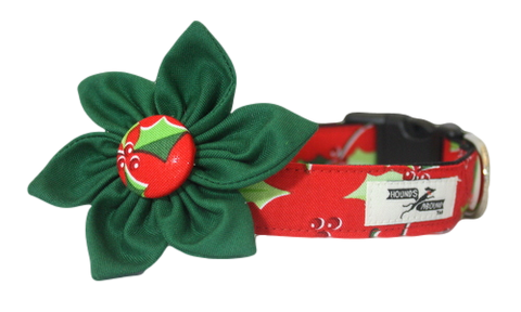 Deck the Halls Flower Collar