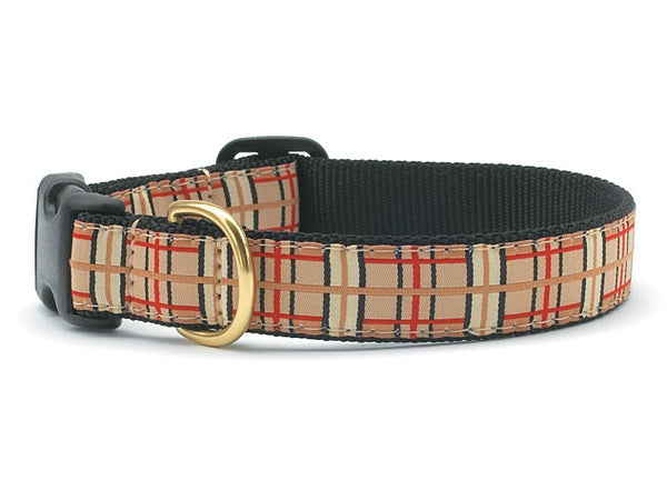 Up County Plaid Collar