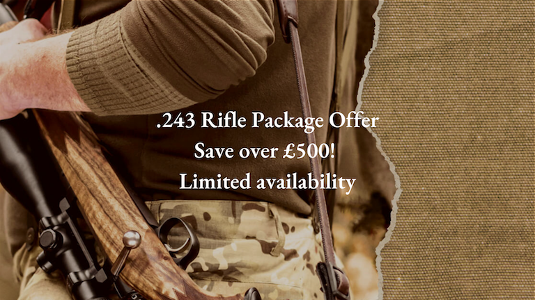 .243 Rifle Package Offer CLuny