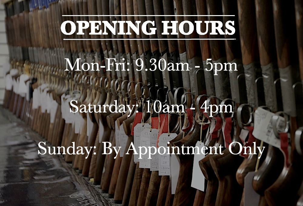 Cluny Country Guns Opening Hours
