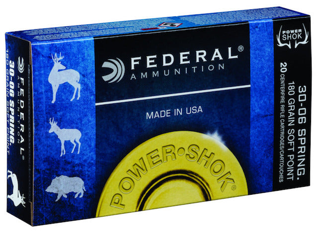 Federal .30-06 PowerShok Bullets - Cluny Country Guns