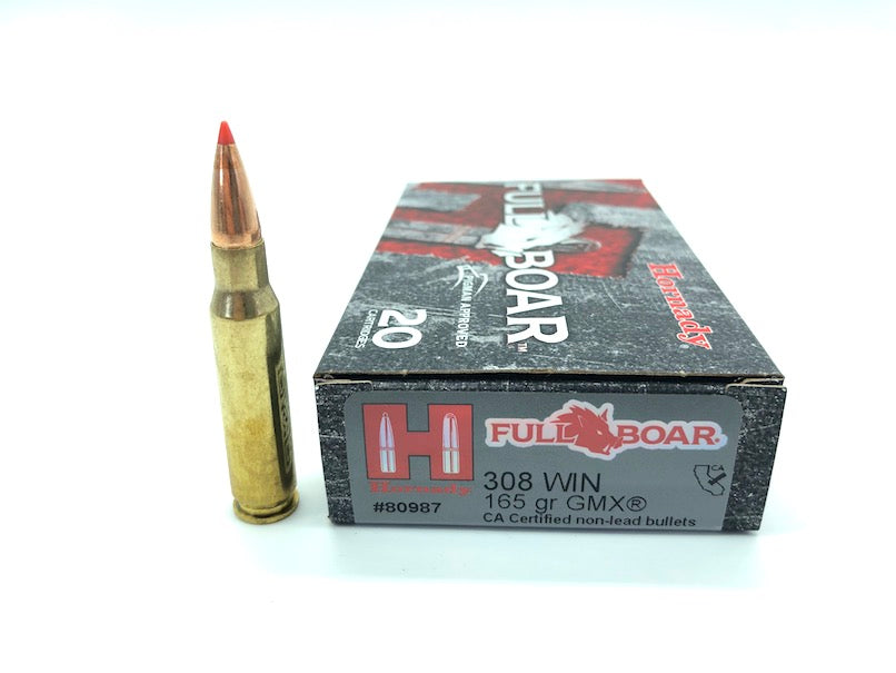 Hornady .308 165gr Lead Free Bullets - Cluny Country Guns