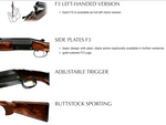 Blaser F3 Vantage Shotgun - Cluny Country Guns
