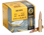 Sellier & Bellot .308 147gr FMJ Bullets (x50)