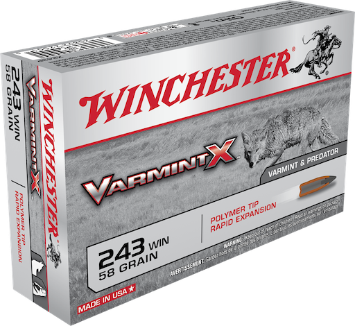 Winchester .243 Bullets