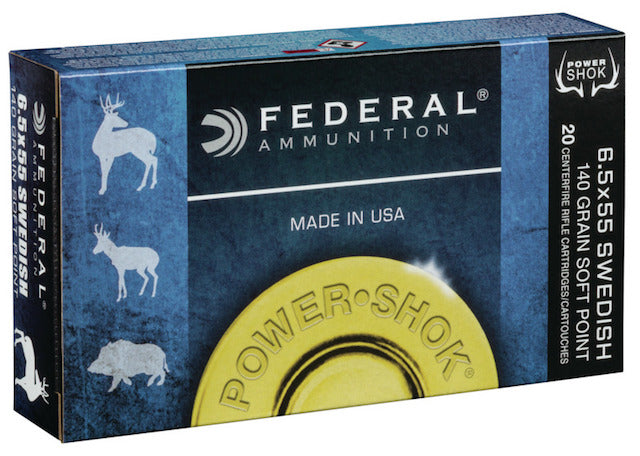 Federal 6.5x55 SE 140gr SP Bullets - Cluny Country Guns