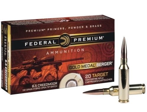 Federal 6.5 Creedmoor Match 130gr Bullets