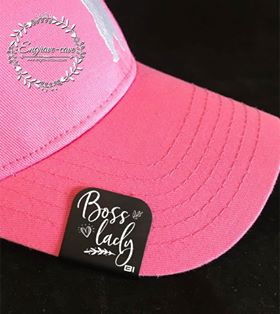 Hat Clip- Boss Lady