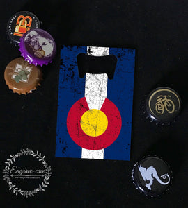 Bottle Opener- Colorado Flag