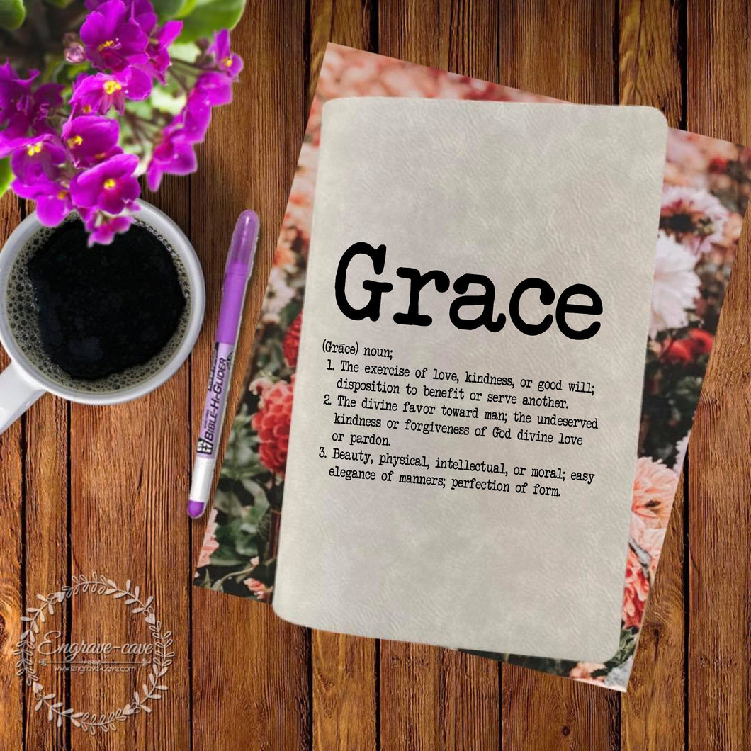 Grace Engraved Bible