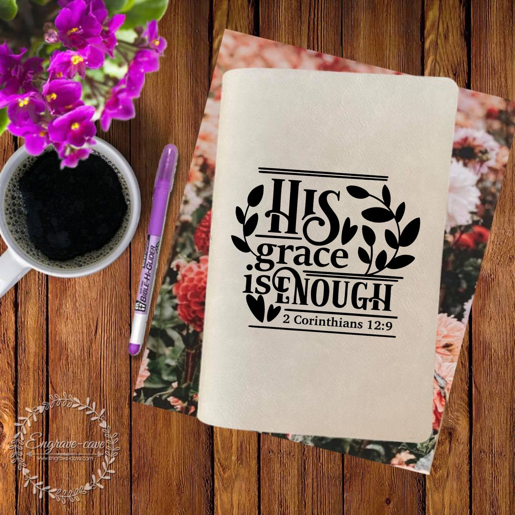 His Grace Engraved Bible