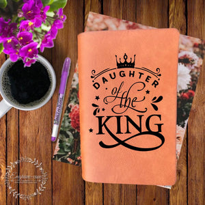 Daughter of the King Engraved Bible