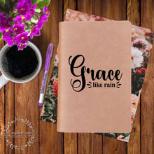Load image into Gallery viewer, Grace Like Rain Engraved Bible