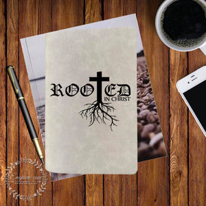 Rooted Engraved Bible