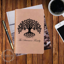 Load image into Gallery viewer, Tree of Life Engraved Bible