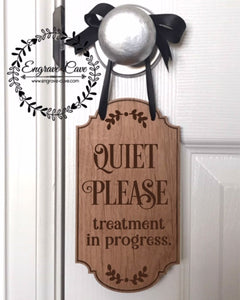 Door Hanger- Quiet Please