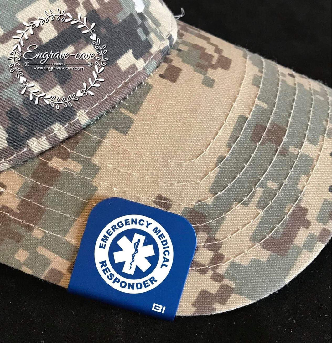 Hat Clip- Emergency Medical Responder
