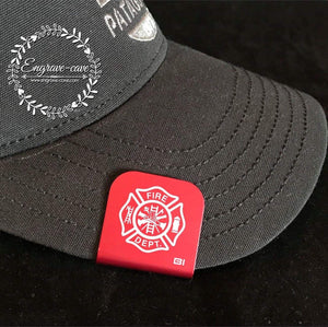 Hat Clip- Firefighter