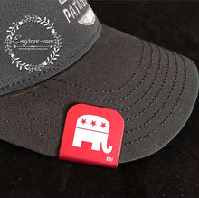 Load image into Gallery viewer, Hat Clip- Republican