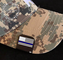 Load image into Gallery viewer, Hat Clip- Thin Blue Line Flag