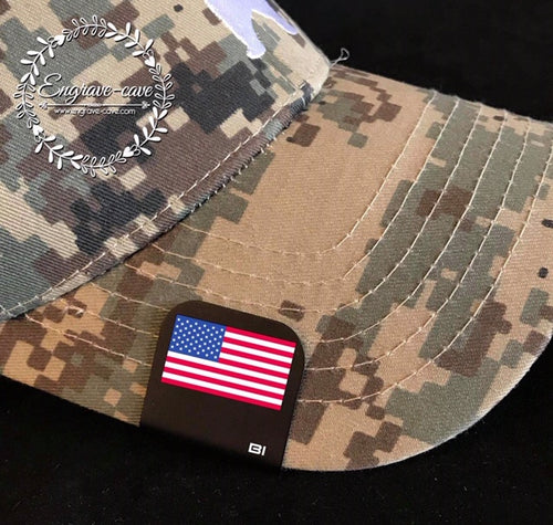Hat Clip- American Flag