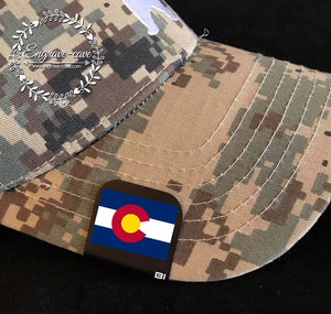 Hat Clip- Colorado Flag