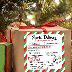 Special Delivery Label
