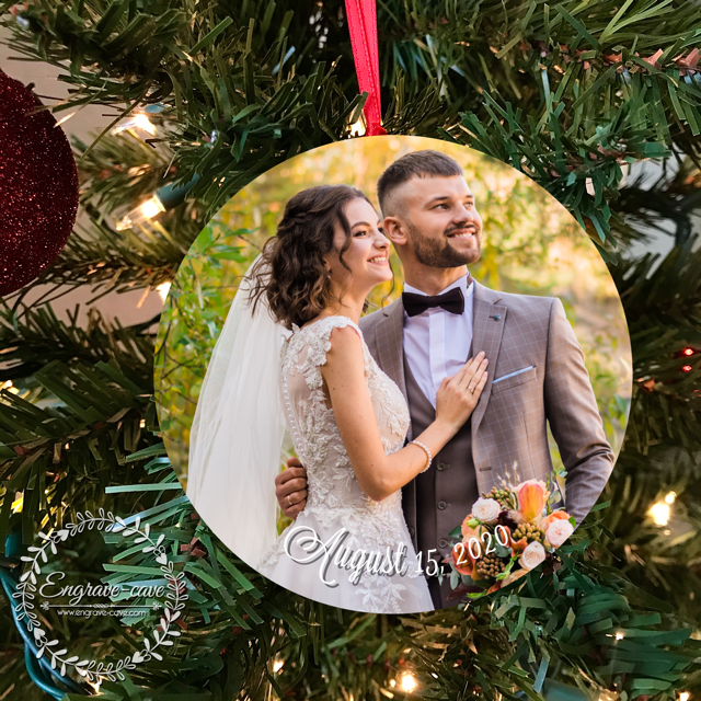 Wedding Keepsake Ornament