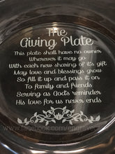 Load image into Gallery viewer, The Giving Plate- God's Love