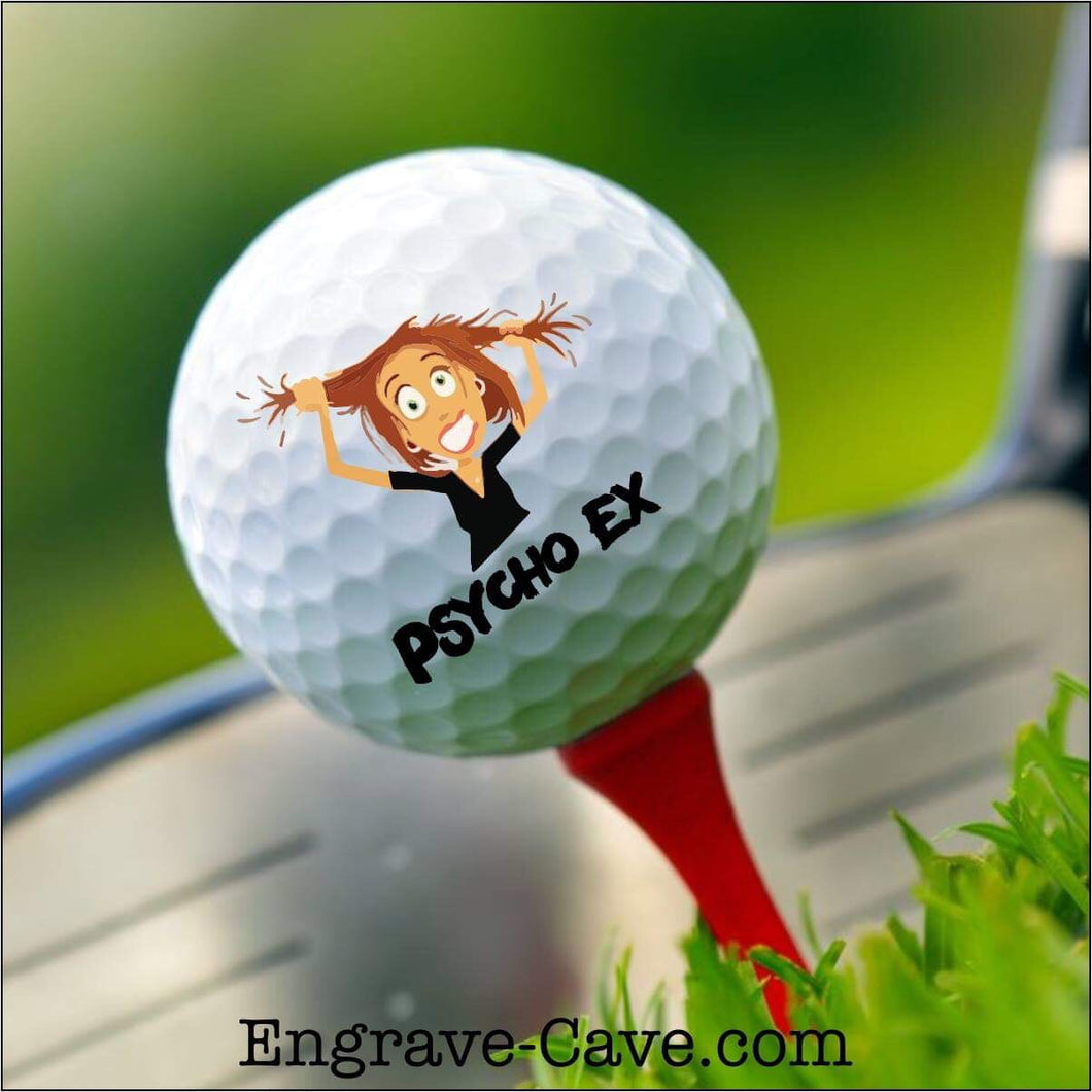 Psycho Ex Female Golf Ball