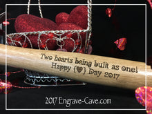 Load image into Gallery viewer, Valentine Engraved Hammer