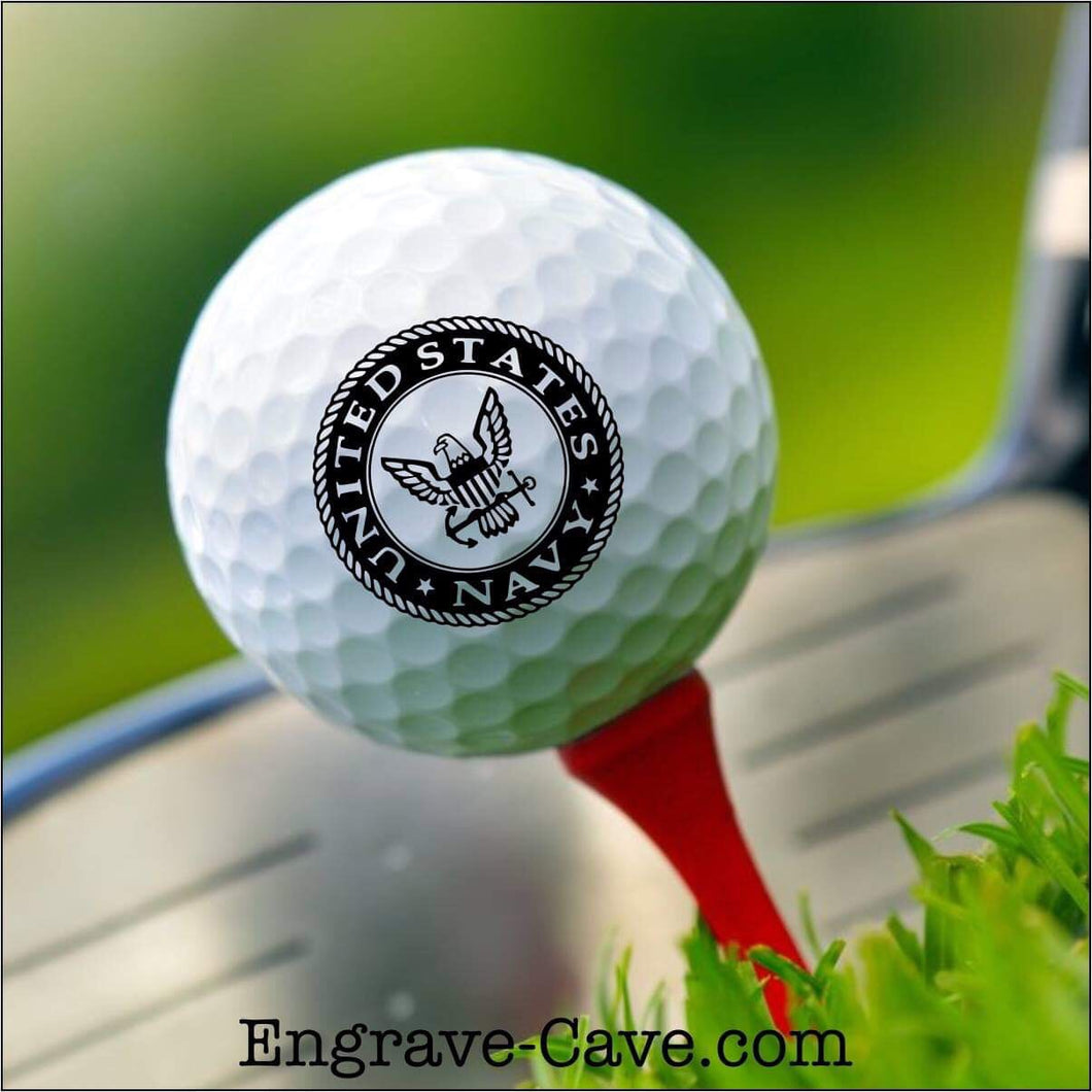 Navy Golf Ball