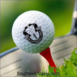 Army Special Forces Golf Ball