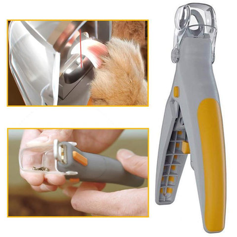Dog Nail Clipper trimmer with led light