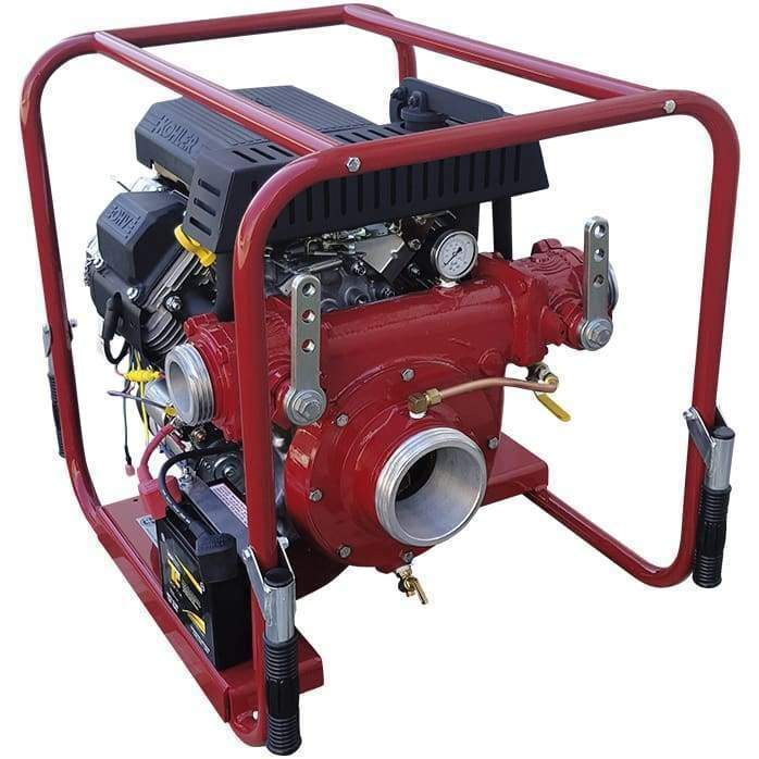 CET Portable Pumps 20 hp Portable High Volume Pump - Electric Start & 2 Discharge Line