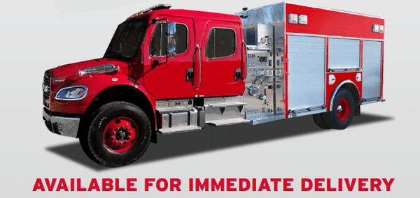 E-ONE Fire Truck Fire_Safety_USA E-One Freightliner Rescue Engine
