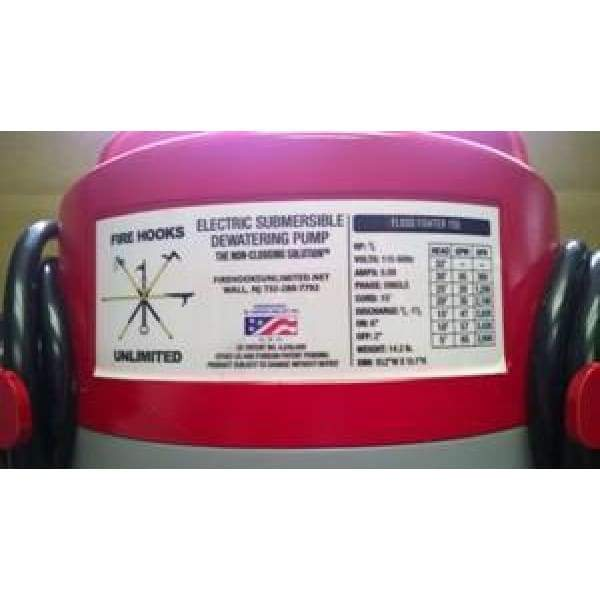 Fire Hooks Unlimited Portable Pumps Fire Hooks Unlimited Flood Fighter